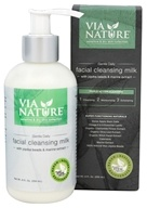Via Nature - Gentle Daily Facial Cleansing Milk - 6 oz.