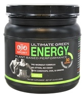 Ojio Sport - Ultimate Green Energy Plant Based Performance Apple 30 Servings - 15.8 oz.