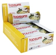 Toosum Healthy Foods - Gluten Free Healthy Snack Bar with Coconut Chamomile - 1.07 oz.