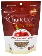 Fruitables Pet Food - Skinny Minis Soft and Chewy Dog Treats Apple Bacon Flavor - 5 oz.