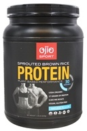 Ojio Sport - Sprouted Brown Rice Protein Plant Based Performance Natural 30 Servings - 1.39 lbs.