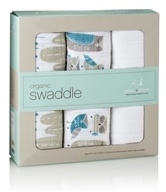 Aden + Anais - Organic Cotton Muslin Swaddles Wise Guys - 3 Pack