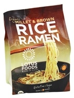Organic Rice Ramen Whole Grain Noodles 4 Pack