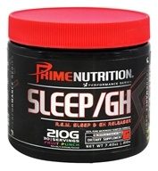 Prime Nutrition - Performance Series Sleep/GH Fruit Punch - 210 Grams LUCKY PRICE