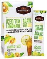 All Natural Agave Five Drink Mix Iced Tea Lemonade - 6 x 0.88 oz. Packets