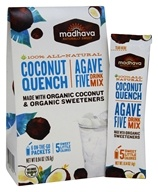 All Natural Agave Five Drink Mix Coconut Quench - 6 x 0.88 oz. Packets