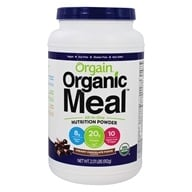 Orgain - Organic Meal Powder Plant Based Creamy Chocolate Fudge - 2.01 lbs.