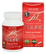 Six Star Pro Nutrition - Fit Figure Weight Loss Formula Non-Stimulant - 60 Capsules