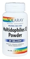 Multidophilus 12 Powder 20 Billion Twelve-Strain Formula with Prebiotics