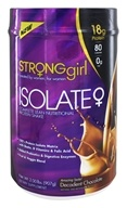 StrongGirl - Isolate Complete Lean Nutritional Protein Shake Chocolate Truffle - 2 lbs.