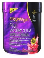 StrongGirl - Pre Workout Power & Energizing Performance Motivator Strawberry Mojito - 7.73 oz.