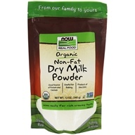 Now Real Food Organic Non-Fat Dry Milk Powder