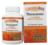 Natural Factors - CurcuminRich Theracurmin 300 mg. - 120 Vegetarian Capsules