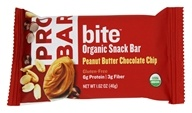 Bite Organic Energy Bar Peanut Butter Chocolate Chip