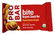 Bite Organic Energy Bar Peanut Butter Crunch