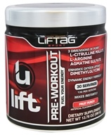 Liftag Sport - ULift Pre-Workout Powder Fruit Punch Flavor - 13.76 oz.