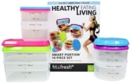 Fit & Fresh - Healthy Living Smart Portion Containers - 14 Piece(s)