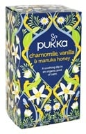 Pukka Herbs - Organic Herbal Tea Chamomile, Vanilla & Manuka Honey - 20 Tea Bags