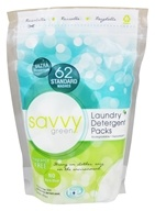 Savvy Green - Ultra Concentrate Laundry Detergent Packs - 62 Pack(s)