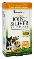 NutraLife Pet - Ultra Joint & Liver Support for Medium Dogs 200 mg. - 30 Tablets