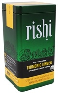 Rishi Tea - Turmeric Ginger Caffeine-Free Organic Loose Leaf Herbal Tea - 2.47 oz.