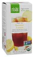 Organic Artisan Summer Lemon Black Iced Tea
