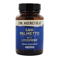 Dr. Mercola Premium Products - Saw Palmetto with Lycopene - 30 Capsules