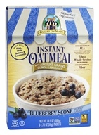 Instant Oatmeal Blueberry Scone Flavored