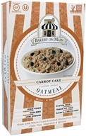 Instant Oatmeal Carrot Cake Flavored