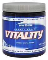 Blue Star Nutraceuticals - UNPUBLISHED Vitality for Men Pharmaceutical Grade Vitamin & Mineral Formula - 120 Capsules