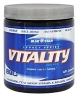 Blue Star Nutraceuticals - Vitality for Men Pharmaceutical Grade Vitamin & Mineral Formula - 120 Capsules