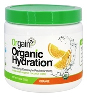 Orgain - Organic Hydration Refreshing Electrolyte Replenishment Orange - 7.05 oz.