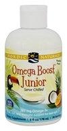 Nordic Naturals - Omega Boost Junior Paradise Punch 285 mg. - 6 oz.
