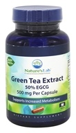 Nature's Lab - Green Tea Extract 50% EGCG 500 mg. - 90 Capsules