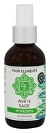 Four Elements Herbals - Hydrosol White Sage - 4 oz.