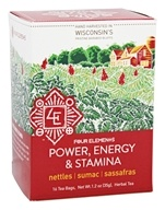 Organic Herbal Tea Power, Energy and Stamina