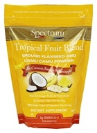 Tropical Fruit Blend Ground Flaxseed and Camu Camu Powder