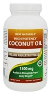 Organic High Potency Extra Virgin Coconut Oil