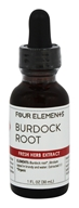 Fresh Herb Extract Tincture Burdock Root