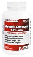 Top Secret Nutrition - Garcinia Cambogia Extract 60% HCA - 90 Vegetarian Capsules