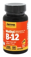 Jarrow Formulas - Methyl B-12 Tropical Flavor 2500 mcg. - 100 Lozenges