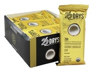 22 Days Nutrition - Organic Protein Bar Coconut Chocolate Chip - 12 Bars