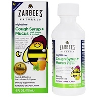 Children's Cough Syrup + Mucus Reducer Nighttime