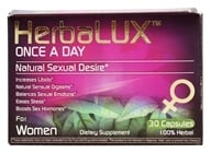 HerbaLUX - Once a Day Natural Sexual Enhancement for Women - 30 Capsules