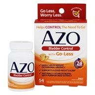 Azo - Bladder Control with Go-Less - 54 Capsules