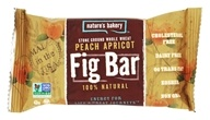 Nature's Bakery - 100% Natural Stone Ground Whole Wheat Fig Bar Peach Apricot - 2 oz.