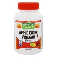 Botanic Choice - Apple Cider Vinegar 500 mg. - 90 Capsules
