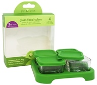 Glass Baby Food Cubes 2 oz. Size + Tray