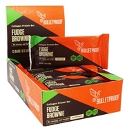 Bulletproof - Gluten Free Upgraded Collagen Protein Bar Upgraded Chocolate - 12 Bars