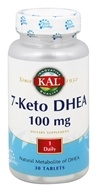 Kal - 7-Keto DHEA 100 mg. - 30 Tablets